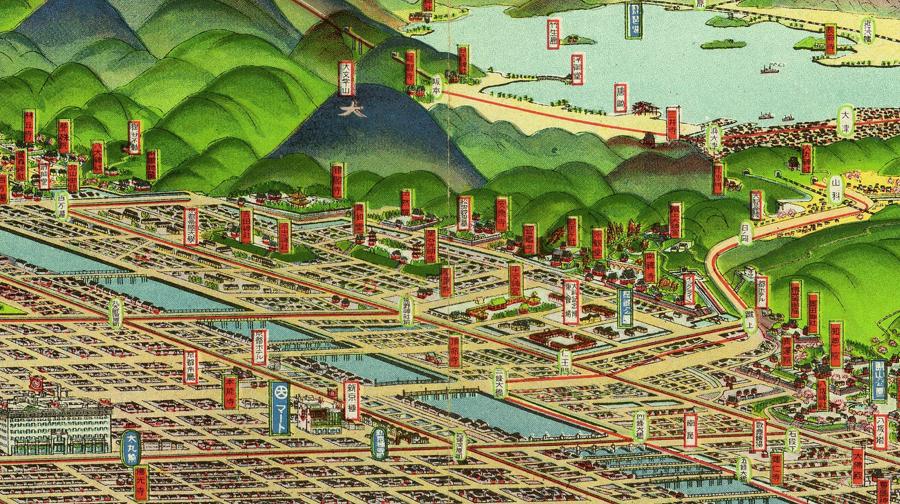 イラストマップ特集】地図なのか、それとも絵なのか──戦前の「地図 ...